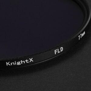 Image 2 - KnightX FLD UV CPL Filtro de lente 49 52 55 58 62 67 77 mm para nikon Canon Sony accesorios de lente Cámara d5200 d3300 canon 52mm 58mm