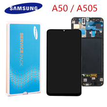 """Super AMOLED 6.4"""" LCD For Samsung galaxy A50 LCD 2019 A505F/DS A505F A505FD A505A LCD Display Touch Screen Digitizer Assembly"""
