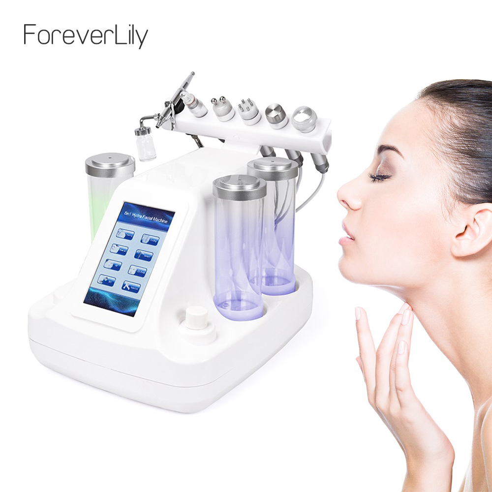 ForeverLily 6 In 1 Facial Bubble Machine Skin Rejuvenation Mouisture Dead Skin Removal Tightening Deep Clean For Beauty Salon