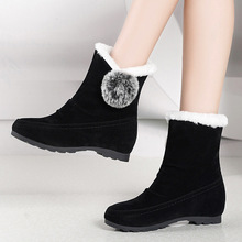 2019 Fashion New Women Boots Winter Ankle Keep Warm Snow Shoes Womens