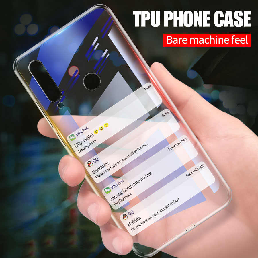 CHENCE Soft Silicone TPU Case For Huawei P Smart 2019 P30 Mate 30 Lite Pro Honor 20 Pro 20S 9X 8X Max Nova 4 3 3i V20
