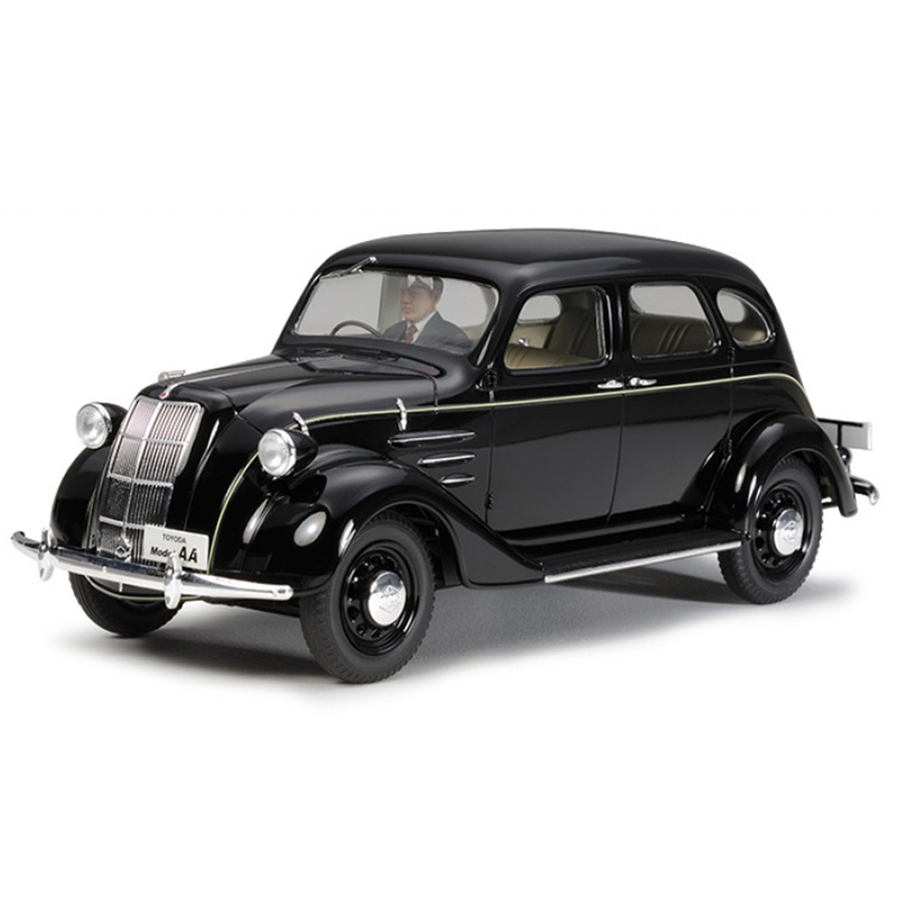 Tamiya Assembly Model 1/24 Scale Sports Car Series Toyoda Model AA Type Toyota Maiden Production Toy Classic Cars 24339