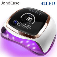 Nail Dryer for Regular Polish UV LED Lamp for Manicure Machine Tools 84/90/72W Touch LCD Ice Lamp for Gel Nail Drying Lamp