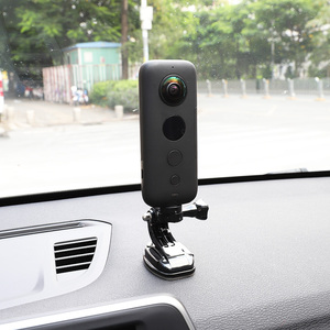 Image 5 - عمل كاميرا سيارة شفط كأس ل Insta360 واحد X GoPro بطل 8 7 5 سوني SJCAM يي 4K EKEN DJI جبل زجاج النافذة مصاصة الملحقات