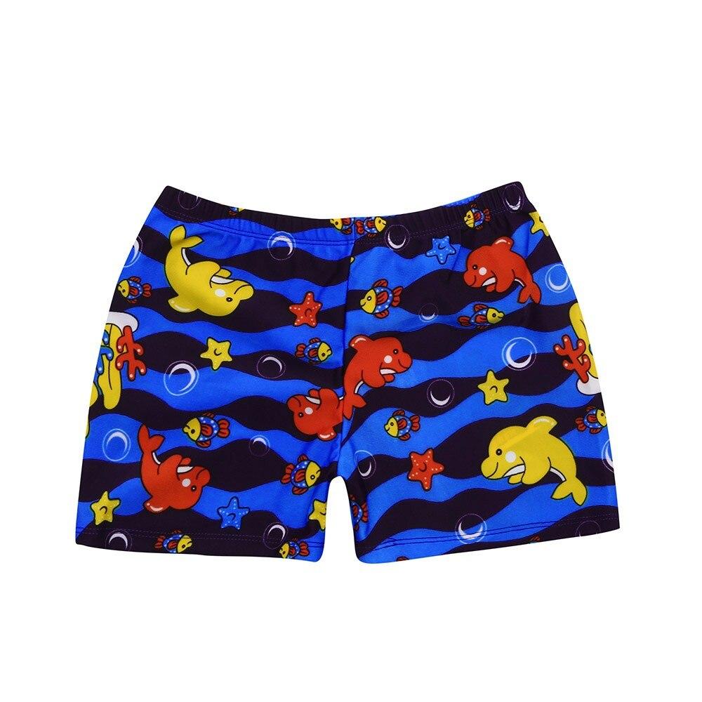 Плавки для мальчиков; детские летние пляжные шорты для мальчиков; стрейчевый пляжный купальный костюм с рисунком; купальные штаны; шорты - Габаритные размеры: B