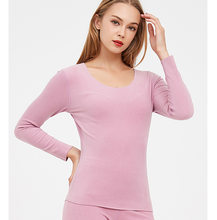 2枚プラスサイズlの3XL熱下着の女性の冬服ウォームスーツロングジョンズ女性大サイズ