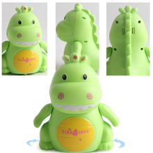 Rail-Track Induction Electronic-Toys Animal Dinosaur Kids with Charging-Light Music-Line