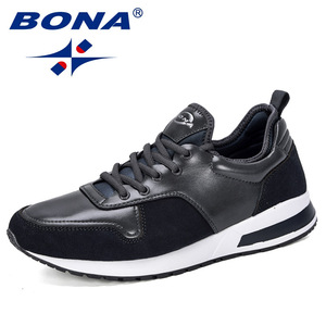 Image 5 - BONA 2019 New Designers Popular Men Shoes Adult Tennis Men Casual Shoes Breathable Footwear Nan Shoes Mens Chunky Sneakers Comfy