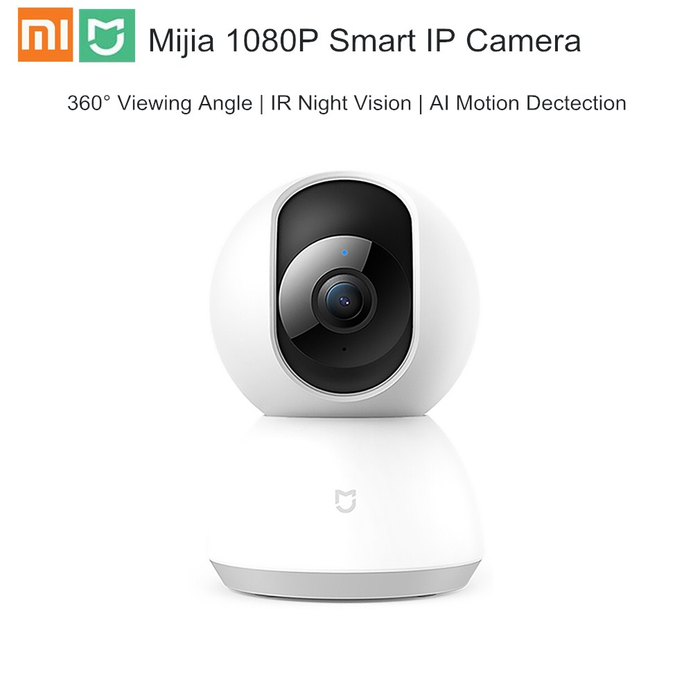 Xiaomi Mijia 1080P Smart IP Camera 360° APP Remote Control Wireless Camera Two-way Audio IR Night Vision Home Security Camera