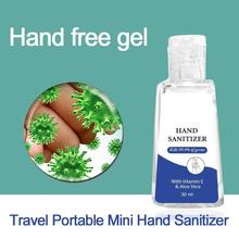 30ML Travel Portable Antibacterial Hand Sanitizer Gel Disposable Quick-Dry Wipe Out Bacteria Waterless Hand Sanitizer Gel