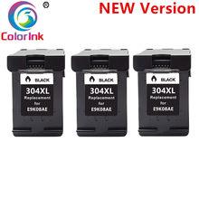 304XL nova versão Cartucho de Tinta preta para hp 304 hp 304 xl deskjet envy 2620 2630 2632 5030 5020 5032 3720 3730 5010 printer