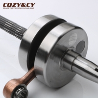 Scooter high quality crankshaft for GILERA Dna 50 Easy Moving Ice Runner Storm 50 Typhoon X XR 50cc 2 strokes 4316255