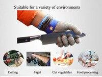 Перчатки с защитой от порезов устойчивые к ногам проволочная металлическая сетка из нержавеющей стали устойчивые к порезу перчатки для мяс...