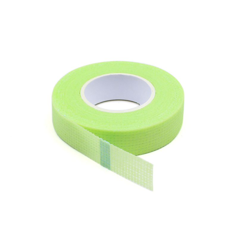 2019 New Japanese Grafted Eyelash Isolation Tape With Holes Breathable Comfortable Sensitive Resistant Green Eye Pad