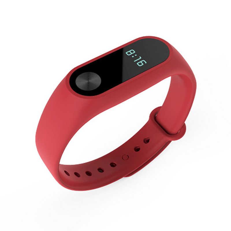 Per mi fascia 2 cinghia Di accessori Braccialetto Braccialetto intelligente Di ricambio In Silicone Wristband Per Xiao mi fascia 2 Accessori TSLM1