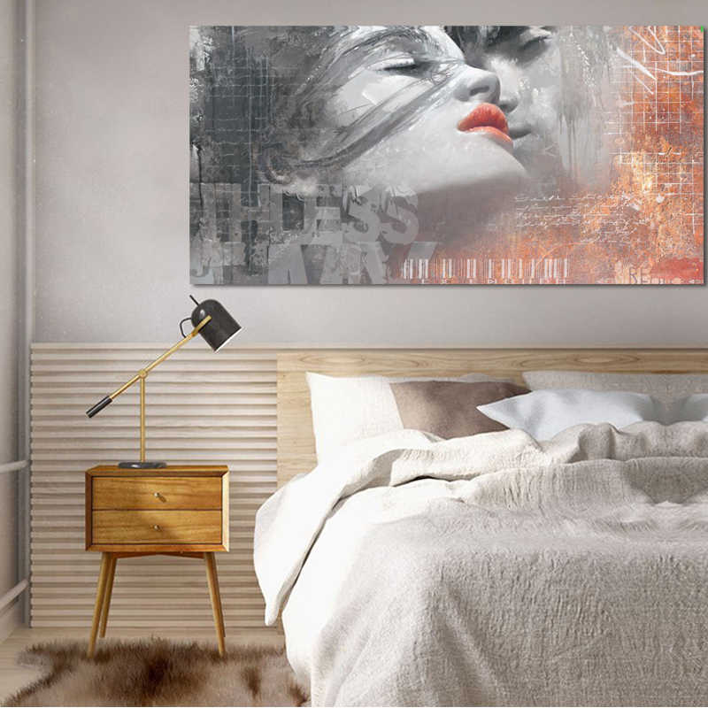 Self-adhesive Tree Kiss Framed PVC Painting Wall Art Picture Poster Home Decor
