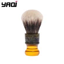 Yaqi 22 мм Sagrada Familia, Два ремешка, барсук, волосы, ручка из смолы, мужские щетки для влажного бритья