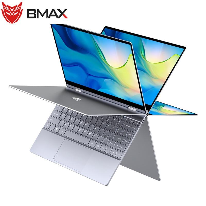 BMAX Y13  Laptop 13.3 Inch Intel Gemini Lake N4100 8GB RAM 256GB ROM SSD LPDDR4 1920 *1080 IPS  Win 10 Ultra-Thin Notebook