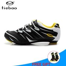 купить TIEBAO Road cycling shoes sapatilha ciclismo men road bike shoes cycling bicicleta carretera women athletic Riding sneakers дешево