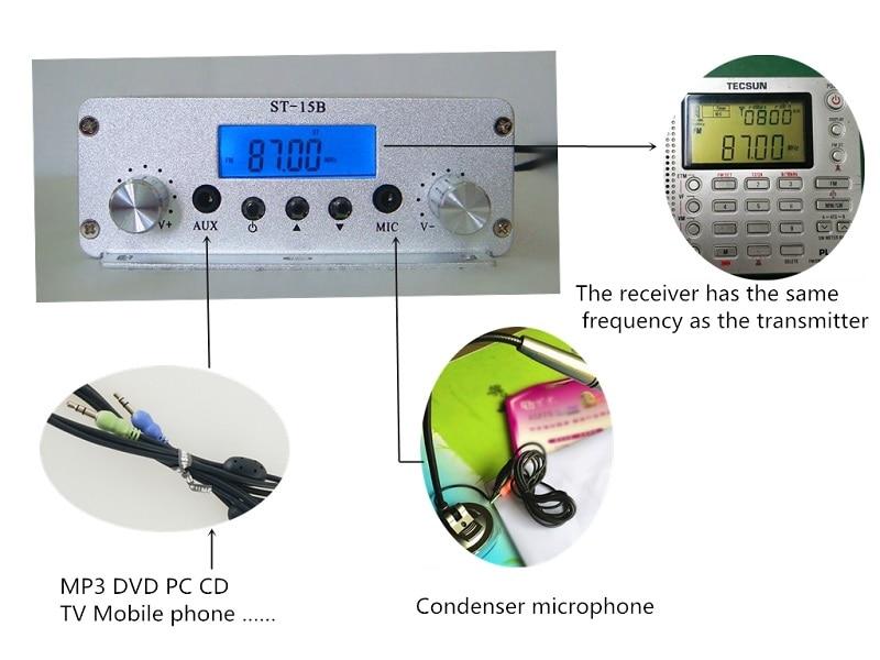 15W FM transmitter -3