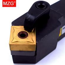 MZG CNC 20mm 25mm MSSNR1616H09 מחרטה עיבוד ארבור משעמם קאטר מתכת קרביד חיתוך Toolholder חיצוני הפיכת בעל כלי