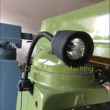 1PC Milling Machine 24V 35W Head light Black Quartz Lamp For CNC Bridgeport Mill service
