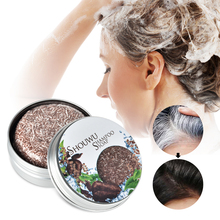 Polygonum Multiflorum Natural Hair Shampoo Soap Pure Plant Shampoo Bar Enhance Hair Root Moisturizing Hair Soap Hair Repair Care