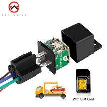 Mini GPS Relais GPS Tracking Gerät Neueste Version MV730 ACC Anhänger Alarm Schnitt Kraftstoff 2G GSM Tracker Geofence fahrzeug Tracker