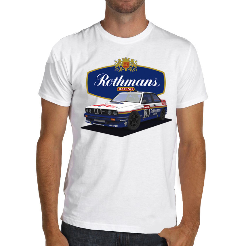 2019 New Summer Cool T Shirt German car fans M3 E30 classic rally racings Soft Cotton T Shirt Cotton Tee shirt in T Shirts from Men 39 s Clothing