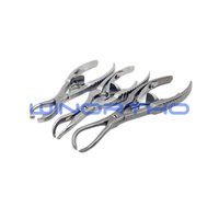 ao synthes reduction forceps with serrated jaw soft ratchet bone holding forceps fragment point clamps veterinary orthopedic