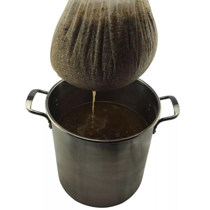 2019 55 * 50 cm 160 mikronů 10 gallonů Brew Filtrační sáček s jemnými oky HOP Sitko na sáčky pro VÍNO JAM PIVO VYDĚLÁVÁNÍ DOMÁCÍCH POTRAVIN