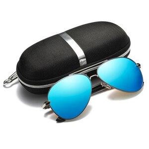 Image 2 - MUSELIFE 2020 الاستقطاب سلسلة الرجال القيادة النظارات الشمسية الرجال والنساء طلاء مرآة vintage نظارات فاخرة الذكور نظارات اكسسوارات