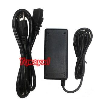 Yqwsyxl 100-240V AC To DC Adapter 12V 4A Power Adaptor Charger Power Cord Mains