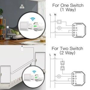 Image 3 - Wifiสวิทช์สวิทช์Diy BreakerโมดูลSmart Life/Tuya APPรีโมทคอนโทรล,ทำงานร่วมกับEcho Alexa Google Home 1/2 Way