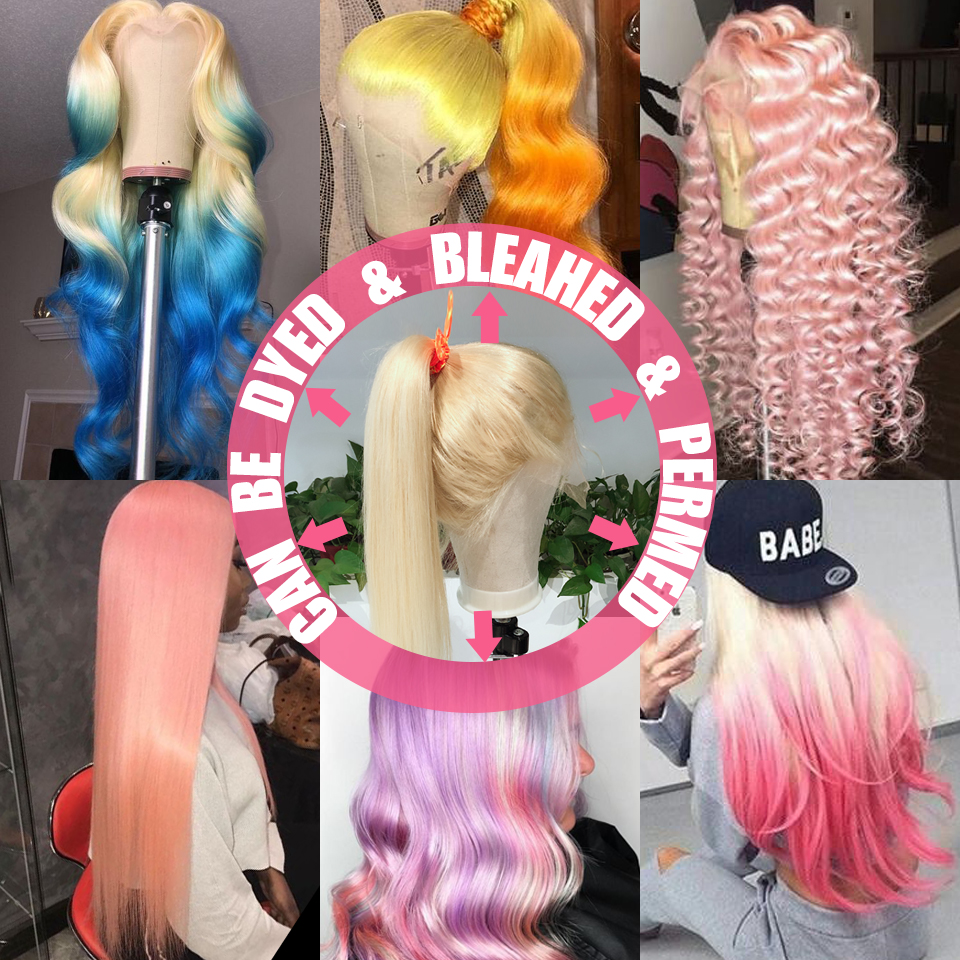 Smoora 613 Blonde Bundles with Frontal  Body Wave Blonde  Bundles with Pre Plucked Frontal Ear to Ear  2