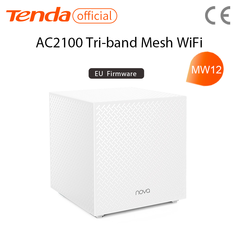 Tenda MW12 AC2100 Whole Home Mesh Wireless WiFi System with Tri-band WiFi Wireless Router and Repeater, APP Remote Manage 2