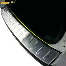 Car Styling tylne osłona na klapę bagażnika Boot listwa progowa pokrywa osłonowa straż dla Ford Escape Kuga 2013 2014 2015 2016 2017 2018 2019