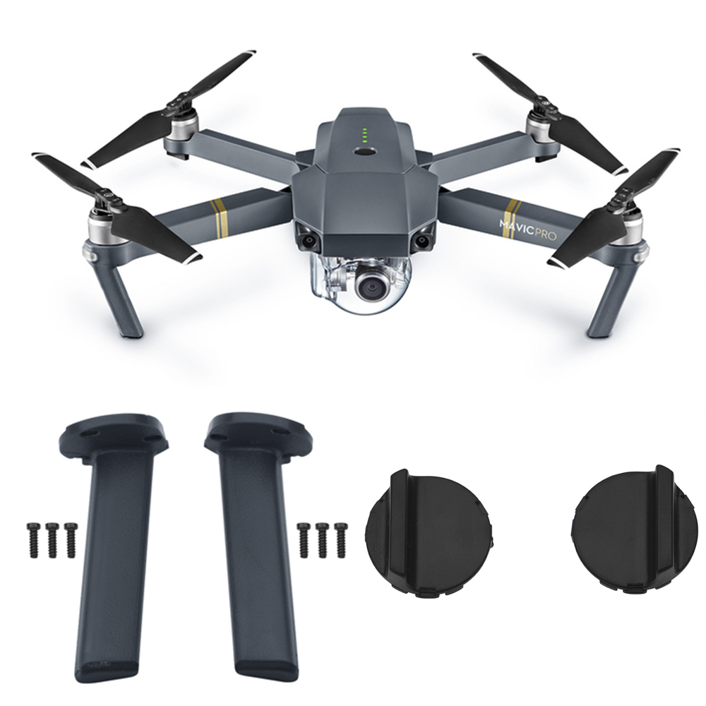 Front Back Left  Right Landing Gear For DJI Mavic Pro Drone Replacement Repair Parts Landing Leg kits Feet Base Cover Accessory|Landing Gear|Consumer Electronics - title=