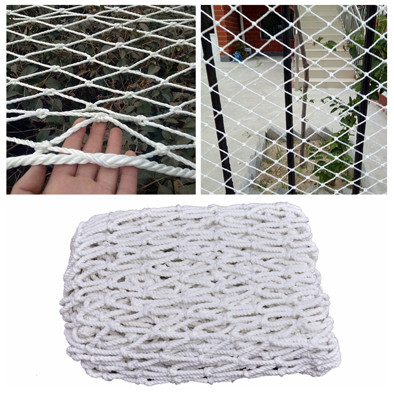 1M Child Safty Net Home Balcony Railing Stairs Baby Fence Against Falling Mesh 3/5/10CM Nylon Safety Greenhouse Protection Nets