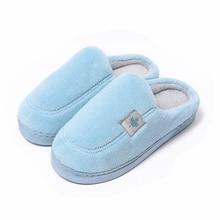 TZLDN/зимние женские короткие плюшевые домашние тапочки; домашние теплые хлопчатобумажные туфли на плоской подошве унисекс; повседневная обувь для спальни и гостиной