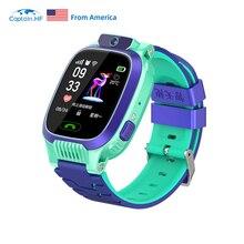 Captain HF Children's Smart Watch GPS Waterproof IP67 Fitness Kids Gift Kids Smart Watch Sim-card 4G Compatible iPhone Android