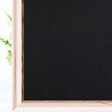 2 metro 100% luz de bloqueio janela auto adesivo filme vinil privacidade proteção vitral adesivo para casa quarto porta