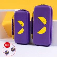 Сумка для хранения Nintendo Switch, Фиолетовый Дьявол, Дорожный Чехол NS, Жесткий Чехол, водонепроницаемый чехол для Nintendo Switch Lite, аксессуары