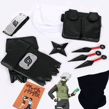 Anime Cosplay Gloves Mask Headband Sign-Props Anime-Accessories Kunai Halloween-Costume