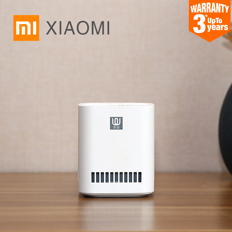 New XIAOMI MIJIA LingWu Air Purifier Miniature photocatalyst addition to formaldehyde wireless 2000mAh Battery Air Wash Cleaner-in Air Purifiers from Home Appliances