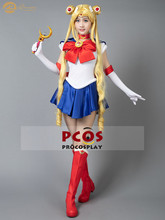 ProCosplay In stock Sailor Moon Crystal Tsukino Usagi Serena outfit cosplay costume for women mp000139(China)