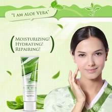 Crema facial humectante de Aloe Vera para el cuidado de la piel, Gel Crema Anti Arrugas para cicatrices de acné, blanqueamiento de la piel, brillo solar