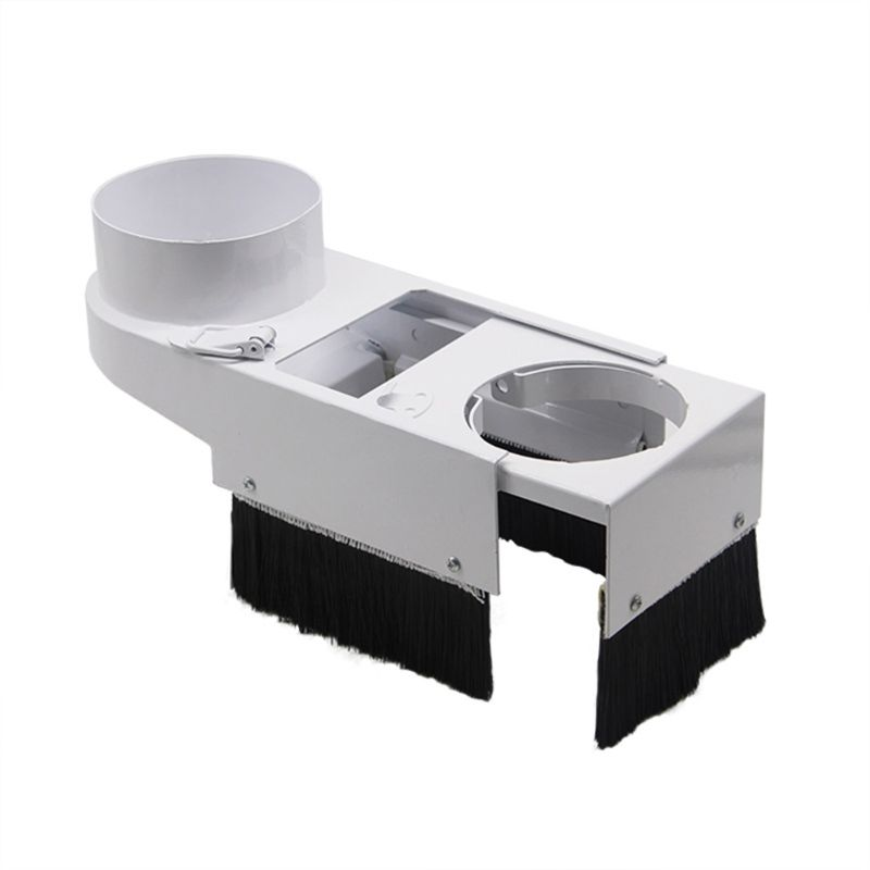 Dust Shoe Cover Brush For CNC Router Spindle Motor Milling Machine Woodworking