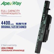 4400 Mah 11.1V Laptop Batterij W650BAT 6 6 87 W650 4E42 K590C I3 K610C I5 K710C I7 G150S G150TC K650D K650D I5 D3 K4 K5 P4 P5