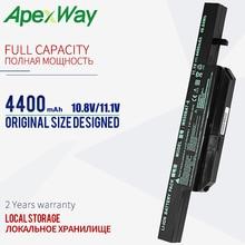 4400mAh 11.1V סוללה למחשב נייד W650BAT 6 6 87 W650 4E42 K590C I3 K610C I5 K710C I7 G150S G150TC K650D K650D I5 D3 K4 K5 P4 P5